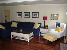 Paint Wood Paneling : Family Room