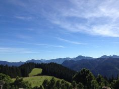 view from Aueralm (Tegernsee)