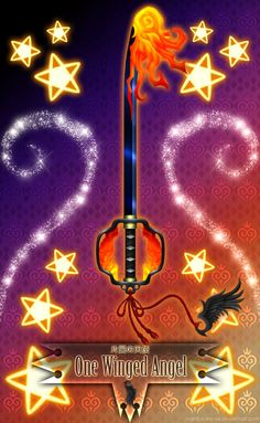 Keyblade One Winged Angel by Marduk-Kurios on DeviantArt