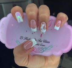 Short Square Acrylic Nails, Acrylic Nails Coffin Short, Best Acrylic Nails, Dream Nails, Love Nails, Pretty Nails, Coffen Nails, Neon Nails, Precious Nails