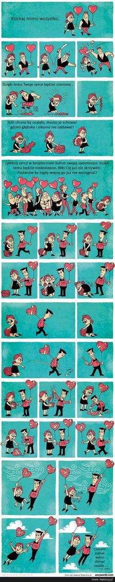 Repostuj.pl :: instrukcja-jak-postepowac-z-sercem-serce-komiks-zenpencils-milosc