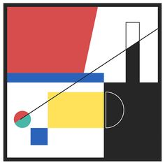 I visited the Museum Centre Pompidou in Paris where I discovered Sophie Taeuber-Arp's paintings, I was amazed by her geometric shapes, colours and compositions. I tried to reproduce and animate a composition with her style for the exercice and as a. Optical Illusion Gif, Optical Illusions, Graph Design, Line Design, Motion Poster, Type Posters, Work Inspiration, Animation Film, Motion Design