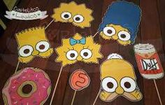 Props Photoboot Cartelitos Kit Baby Shower Personalizado - $ 180,00 Simpsons Party, The Simpsons, Simpsons Costumes, 90s Theme, Baby Shower, 9th Birthday, Erotic Art, Party Themes, Party Ideas