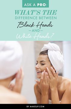 Acne is one thing, but understanding black heads and white heads is a different story. Here's a guide for what the difference is and how to treat these skincare issues! | #clairetaylormua