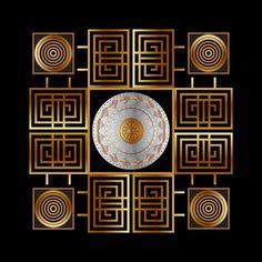 Circumplexical No 3504 by Alan Bennington Mandala Pattern, Mandala Design, Art Prints For Sale, Drawing Ideas, Decorative Plates, Digital Art, Craft Ideas, Wall Art, Drawings