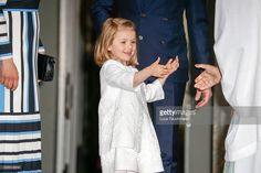 Princess Estelle during her grandfather's 70th Birthday festivities . April 30, 2016
