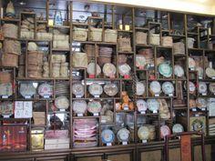Tea Shop in the Maliandao Tea street - Beijing Tea City Market, China