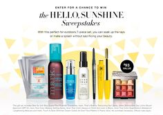 The Hello Sunshine Sweepstakes | Avon  Come enter to win these great products no purchase necessary! #sweepstakes #contest #avonproducts