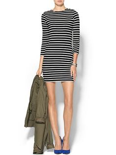 {striped dress}