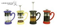 Varios colores para que la preparación de tu café sea siempre divertida.
