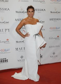 CANNES, FRANCE - MAY 19:  Host Eva Longoria attends the Eva Longoria Global Gift Gala during the 70th annual Cannes Film Festival at  on May 19, 2017 in Cannes, France.  (Photo by Andreas Rentz/Getty Images) via @AOL_Lifestyle Read more: https://www.aol.com/article/entertainment/2017/05/19/cannes-film-festival-day-3/22099504/?a_dgi=aolshare_pinterest#slide=5038741