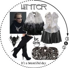 """""""Winter White"""" by shaley1 on Polyvore"""
