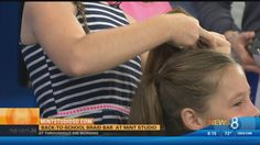As students across the county prepare to head back to school, one is setting up shop. News 8, Cbs News, Business Hairstyles, Braids For Kids, 10 Year Old, Back To School, Channel, Mint, Student