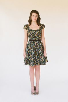 """""""willow"""" dress: check out the picture of the back! how bout this in poppy?      available at sash and bussle"""