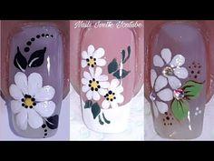 3d Nail Art, 3d Nails, Nail Art Designs Videos, Nail Designs, Margarita Nails, Nail Tutorials, Pedicure, Glitter, Make It Yourself