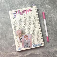 Art journal pages, my journal, cute journals, wreck this journal Bullet Journal Kpop, Bullet Journal Aesthetic, Bullet Journal Inspiration, Art Journal Pages, Bullet Journal Ideas Pages, Journal Diary, My Journal, Bts Book, Cute Journals