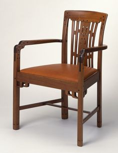 Armchair from the Living Room of the Robert R. Blacker House, Pasadena, California Henry Mather Greene, Peter Hall Manufacturing Company, Charles Sumner Greene, United States, 1907