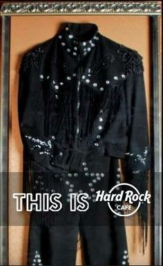 At Hard Rock Cafe, we have an extensive and incredible collection of memorabilia from some of the brightest stars of rock, pop, R&B, and other genres.   Robbie Williams - Figure skating outfit
