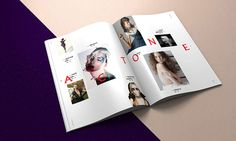 SIMPLY THE MAG ISSUE#1 by PABLO ABAD, via Behance