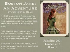 Young Adult Reading Machine: Boston Jane: An Adventure by Jennifer l. Holm