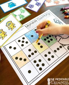 Activities for a Back to School monster theme! Perfect for those first few weeks in Kindergarten. Lots of letter recognition and early number sense skills.