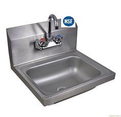 Best Kitchen Faucet | Stainless Steel Hand Sink NSF Commercial Equipment 14  X 10 U003eu003e