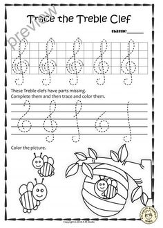 A set of 20 summer themed music worksheets is created to help your students learn to trace, copy, color and draw symbols, notes and rests commonly used in music. Practice in copying them onto their positions on the staff is provided in large size. Music Lessons For Kids, Music For Kids, Music Theory Worksheets, Piano Teaching, Learning Piano, Music Symbols, Violin Lessons, Preschool Music, Elementary Music
