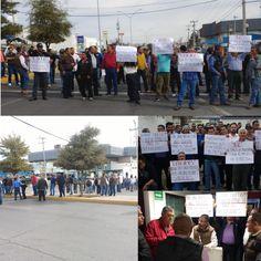 Protestan choferes del transporte urbano, cierran el Ortiz Mena y amenazan con paro general la próxima semana hartos de excesos del director de Transporte, antidoping abusivos,... | El Puntero