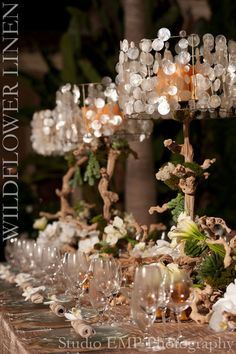 Browse through our photo inspiration gallery and enjoy the wide variety of events we have participated in. Choose a color gallery to get started. Thanksgiving Centerpieces, Table Centerpieces, Wedding Centerpieces, Wedding Decorations, Table Decorations, Table Wedding, Rustic Wedding, Wedding Themes, Wedding Designs