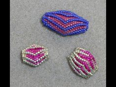 Video: Beaded Wing Beads #Seed #Bead #Tutorials