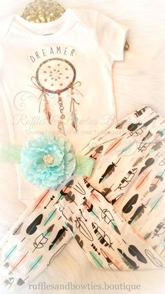 More Arriving Late Oct - Make sure to place your order to Guarantee a pair She's your boho babe and dreamer, creating her own fairytale. These leggings are perfect for your gal, full of dreams and sou