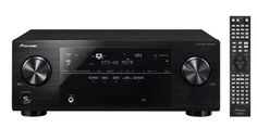 Pioneer AV Receiver with Built-in Bluetooth Ultra HD pass-through with HDCP Advanced Sound Retriever for dynamic response from compressed music Built-in Bluetooth 140 watts/channel amplifier ohms, 1 kHz, THD %, Driven) Home Stereo Speakers, Home Theater Speakers, Stereo Amplifier, Home Theater Receiver, Av Receiver, Dvd Vcr, Dolby Atmos, Tv Videos, Wifi