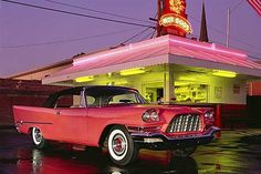 Taylor's Hot Dogs, Visalia, CA - Chrysler 300 C 1957