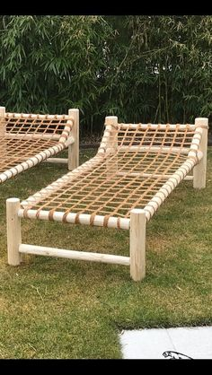 Lie down on natural materials - garden - Outdoor Furniture Ideas - Garten