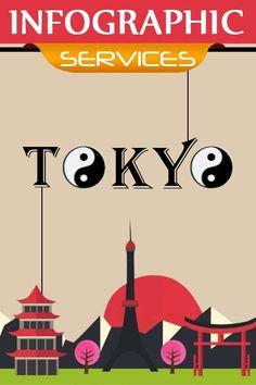 Creative Infographic Design - Tokyo