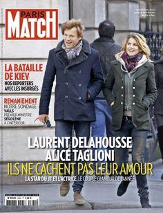 Cette semaine dans Paris Match : Alice Taglioni et Laurent Delahousse ne cachent pas leur amour