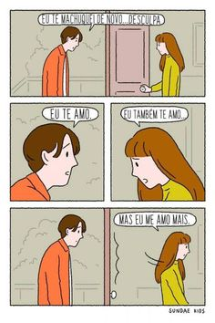 61 Ideas For Quotes Life Humor Feelings Cute Couple Comics, Couples Comics, Cute Couple Art, Couple Cartoon, Cute Comics, Funny Couples, Happy Couples, Sundae Kids, Painting & Drawing