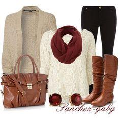 Fall Fashion 2013 | Knitted Cardigan