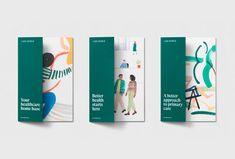 One Medical – Visual Journal design Pamphlet Design, Leaflet Design, Booklet Design, Graphic Design Brochure, Graphic Design Projects, Graphic Design Inspiration, Dm Poster, Design Poster, Print Design