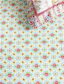 Spannbettlaken, Blossom Rose Dieses süße Blümchen Spannbettlaken ist aus der neuen Kollektion von Pip. Wir bieten sie in vier Größen an.