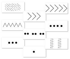 Wellicht heb je iets aan deze kaarten met ritme suggesties. Het zijn geen 'echte' ritmes, maar grafische notaties. Dat wil zeggen dat er geen traditioneel notenschrift wordt gebruikt, maar het ritme duidelijk wordt gemaakt met een plaatje.