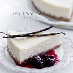 Sernik waniliowy Cupcake Cakes, Cupcakes, Easter 2020, Christmas Cooking, Nigella, Cheesecakes, Food Photography, Vegan Recipes, Sweet