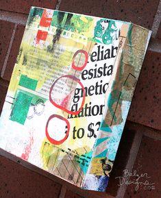 by Julie Fei-Fan Balzer, mixed media on wood panel