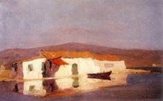 .:. Οικονόμου Μιχαήλ – Michail Oikonomou [1888-1933] Σπίτι στην ακρογιαλιά