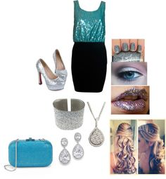 """Every Girl Needs A Little Sparkle:)"" by gisellesuarez16 ❤ liked on Polyvore"