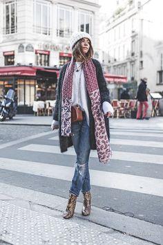 Уличная мода: Лучшие образы из модных блогов за неделю: Marketa Bartova, Olga Choi, Veronica Popoiacu и другие