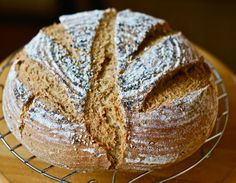 Swedish Rye Bread With Sesame, Anise, and Poppy Seeds