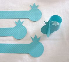 Napkin ring napkin holder turquoise. 8 colors available. For Rosh hashana by Pomegranatree on Etsy