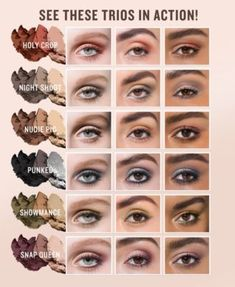 Smashbox Photo Edit Eye Shadow Trio - Summer Make-Up Dramatic Eye Makeup, Dramatic Eyes, Simple Eye Makeup, Natural Makeup, Easy Makeup Looks, Eye Makeup Images, Eye Makeup Tips, Eyebrow Makeup, Rimmel Makeup