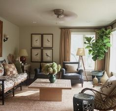 British Colonial design style. Loving this idea for the living room.